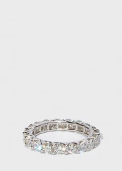 Золотое кольцо Zarina Sparkling Eyes с бриллиантовой дорожкой (2,35 ct), фото