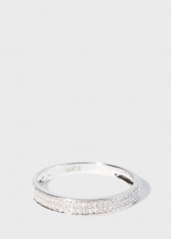 Женское кольцо Zarina Sparkling Eyes с бриллиантами (0,1 ct), фото