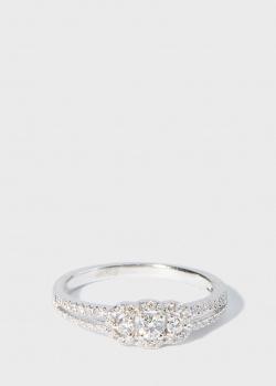 Кольцо Zarina Your Grace в белых бриллиантах, фото