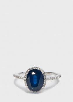 Перстень Zarina Кольори Кохання с синим сапфиром (2,23 ct), фото