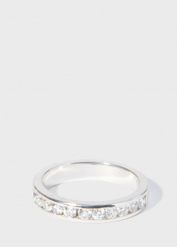 Золотое кольцо Zarina Sparkling Eyes с бриллиантами (0,81 ct), фото