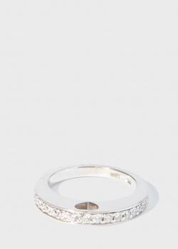 Кольцо Zarina Sparkling Eyes с бриллиантовой дорожкой, фото