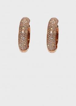 Серьги-конго Zarina Sparkling Eyes в бриллиантах (1,149 ct), фото