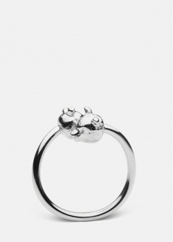 Кольцо с медведями Skultuna Nordic Wildlife Bear, фото