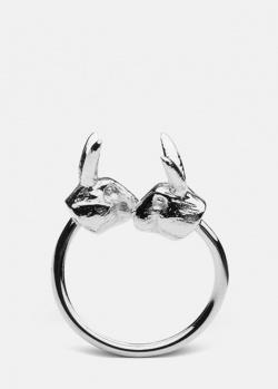 Тонкое кольцо Skultuna Nordic Wildlife Hare, фото