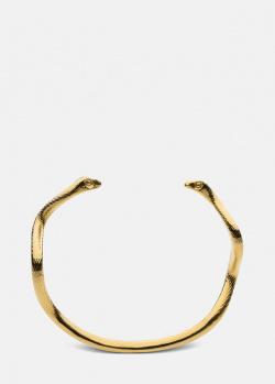 Позолоченный браслет Skultuna Snake в виде змей, фото