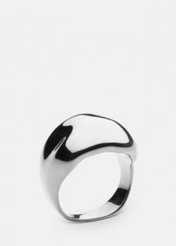Фактурное кольцо Skultuna Chunky из полированной стали, фото