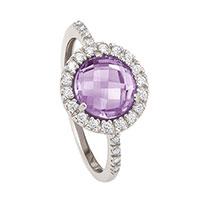 Серебряное кольцо Nomination Sophia с камнями, фото