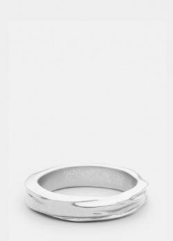 Кольцо из матовой стали Skultuna Opaque Object, фото