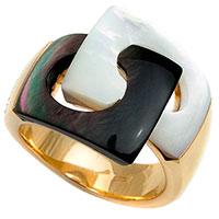 Кольцо Chimento Avantgarde из желтого золота с перламутром, фото