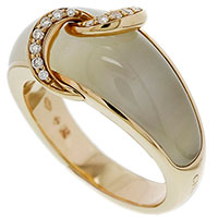 Широкое кольцо Chimento Liason с кварцем, фото