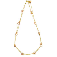 Золотое колье Chimento Liason с бриллиантом, фото