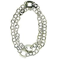 Серебряное ожерелье Chimento Avantgarde с крупными звеньями, фото
