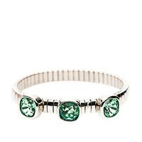 Браслет Nomination Chik с зелеными кристаллами , фото