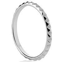 Серебряное кольцо Aran Jewels с геометрическим сечением, фото