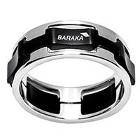 Широкое кольцо Baraka из золота, фото