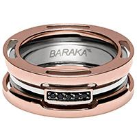 Кольцо широкое Baraka Explore с бриллиантами, фото