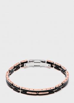 20. Baraka. Мужской браслет Baraka Mosaiko из розового золота и черной  керамики 5d4140d37f4