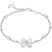 Браслет Comete Farfalle из серебра с декором-бабочкой, фото