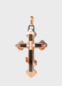 Подвеска-крестик Baraka Prive с белыми бриллиантами, фото