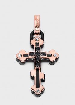 Крестик Baraka Prive из розового золота, фото