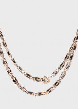 Длинная цепь Baraka Cyborg Ceramic из розового золота, фото