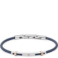 Мужской браслет Comete Wire синего цвета, фото