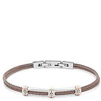 Мужской браслет Comete Wire коричневого цвета, фото