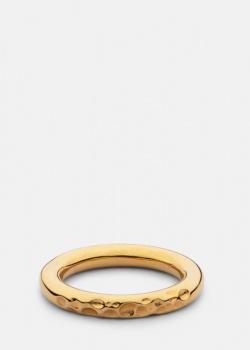 Кольцо Skultuna Juneau Petit с позолоченным покрытием, фото
