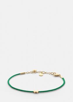 Зеленый браслет Skultuna PPG с круглыми подвесками, фото