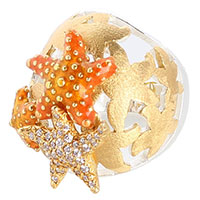 Женский перстень Misis Isla de mujeres с морскими звездами, фото