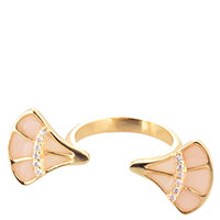 Разомкнутое кольцо Misis Empire с фианитами, фото