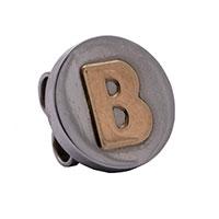 Кулон Nomination Mybonbons круглый с изображением буквы В, фото