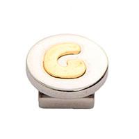 Кулон Nomination Mybonbons круглый с изображением буквы G, фото