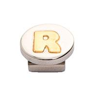 Кулон Nomination Mybonbons круглый с изображением буквы R, фото