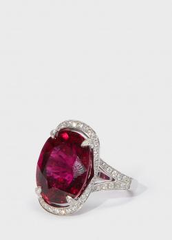 Коктейльное кольцо Zarina by Roman Bayand с родолитом, фото
