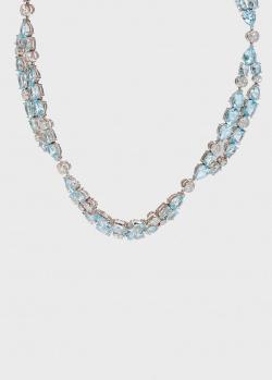 Ожерелье Zarina by Roman Bayand в бриллиантах и топазах, фото