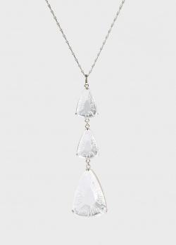 Колье Lalique Ice Light с подвеской из прозрачного хрусталя, фото