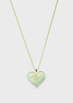 Хрустальное сердце на нити Lalique Amoureuse Beaucoup, фото
