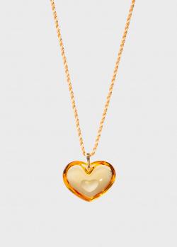 Колье Lalique Amoureuse A La Folie Tendreheart, фото