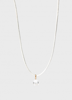 Кулон-ландыш на шелковой нити Lalique Muguet, фото