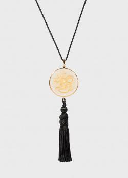 Колье Lalique Dragon Amber, фото