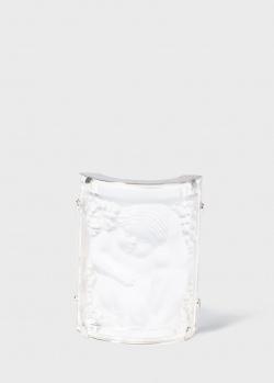 Брошь Lalique Enfants Младенец из прозрачного хрусталя, фото