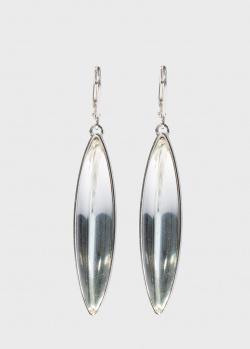 Длинные серьги Lalique Eclat Collection из серебра, фото