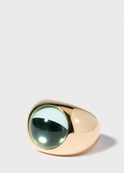 Позолоченный перстень Lalique Cabochon из серебра, фото