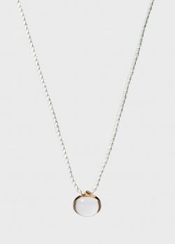 Колье с круглой подвеской Lalique Cabochon, фото