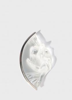 Брошь Lalique Acrobate из хрусталя, фото