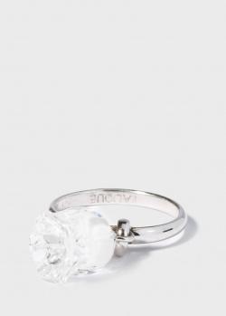 Кольцо Lalique Muguet с белым колокольчиком, фото