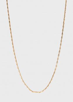 Позолоченная цепочка Lalique из серебра, фото