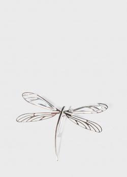 Брошь из серебра Lalique Libellule Стрекоза, фото